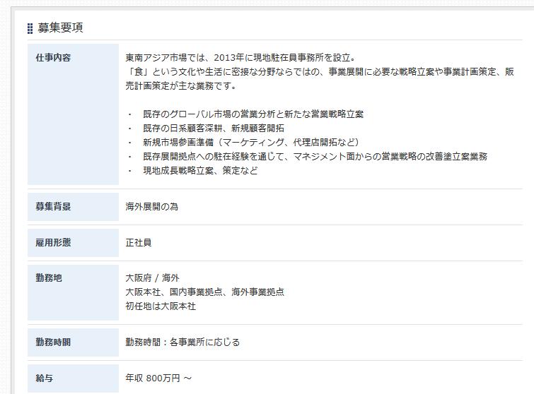大阪の英語正社員求人