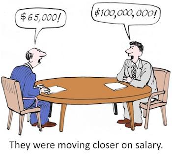 外資の年収交渉