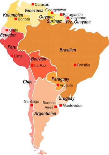 中南米の商社求人