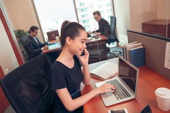 外資企業のアシスタント転職