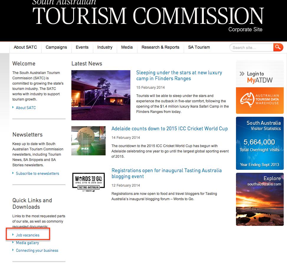 オーストラリア政府観光局