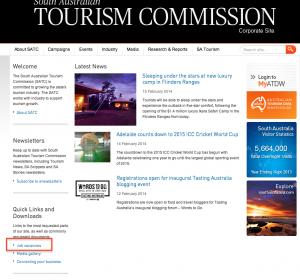 オーストラリア政府観光局の求人