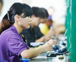 アジア地域の生産管理職の求人